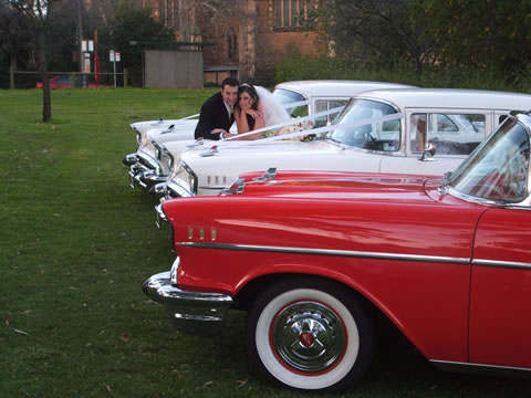 Be transported in classic style and comfort on your wedding day!